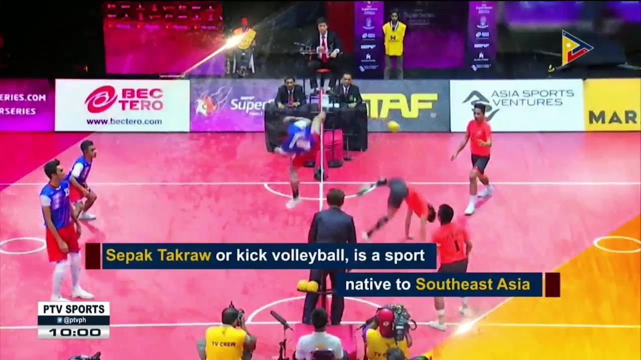 SPORTS NEWS: Kick Volleyball