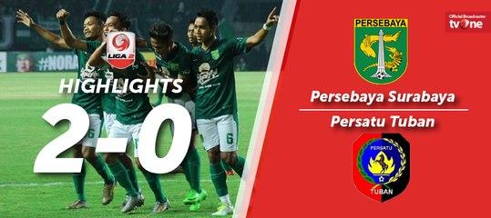 Highlight Liga 2 - Persebaya Surabaya vs Persatu Tuban (2-0)