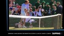 Wimbledon : Daniil Medvedev très remonté par sa défaite, il lance de l'argent à l'arbitre ! (Vidéo)