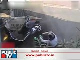 "Truck Runs Over A Man's Head ""Helmet Saves Him"""