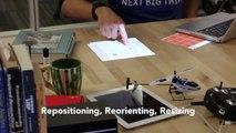 Este sistema convierte una mesa en una pantalla táctil