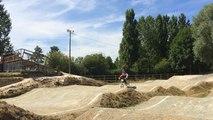 Martin Vrac prépare le Mondial de BMX aux États-Unis