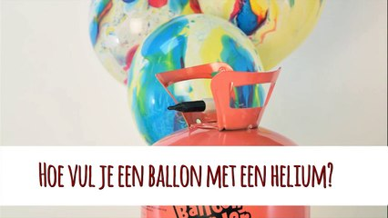 Uitleg heliumtank ballonnen | Feestwinkel Altijd Feest