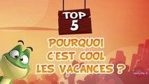 TOP 5 Pourquoi c'est cool les vacances avec Kaeloo (dessin animé TéléTOON+)