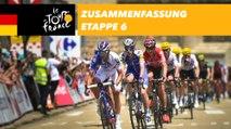 Zusammenfassung - Etappe 6 - Tour de France 2017