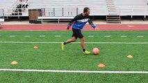 Balle contrôle percer Comment pression Football Football le le le le la à Il entraînement en vertu de |