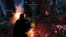 Frente de batalla héroe cazar estrella sobreviviente Guerras con Darth vader 54 50 killstreak