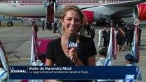 Israël: la visite de Narendra Modi s'achève à l'aéroport Ben Gourion