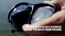 Dive Hacks: How to Clean a New Dive/Snorkeling Mask