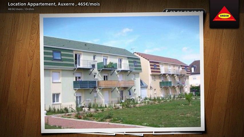 Location Appartement, Auxerre , 465€/mois