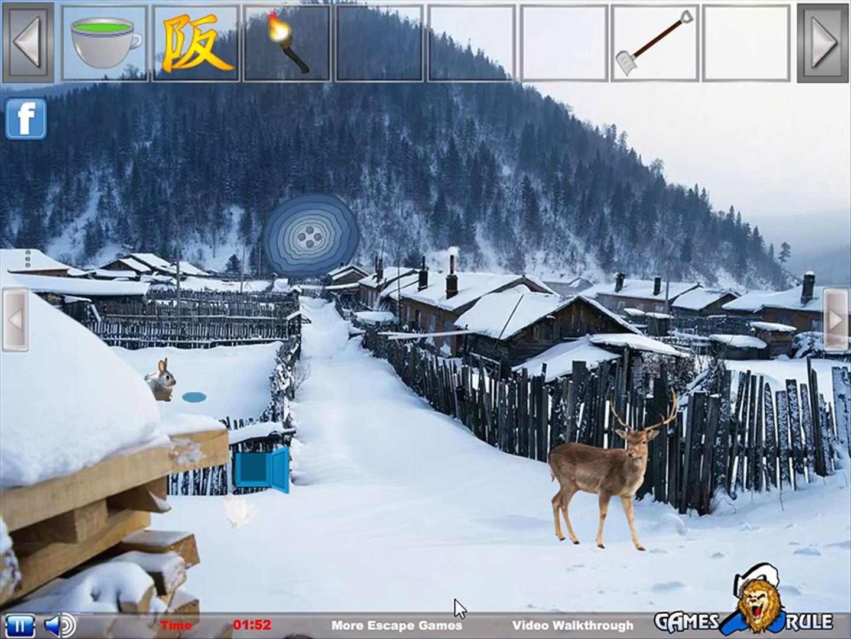 Escapar bosque completo Norte Polo Walkthrough juegos2rule