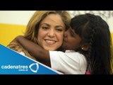 Shakira inaugura escuela para más de 100 niños en Colombia / Shakira opens school