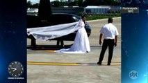 Família de noiva que morreu em acidente de helicóptero vai pedir indenização às empresas