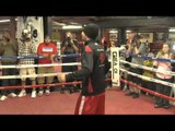 Adrien Broner vs Paulie Malignaggi Paulie Workout and Interview EsNews Boxing