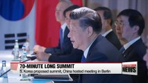 Chinese President Xi Jinping throws support for South Korean President Moon's drive for peace on Korean peninsula