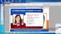 PVC Id Card Printing Page Layout (Template) forasd Epson L800, L805