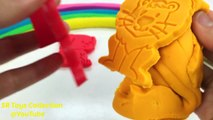 Et argile les couleurs couleur Créatif pour amusement amusement enfants Apprendre la modélisation moules jouer arc en ciel Doh animal