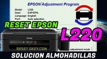 Reset EPSON L220 Solucion Almohadillas han llegado al final de su vida Util - 100 % Garantizado
