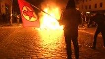 Teils schwere Gewalt bei Protesten gegen Hamburger G-20-Treffen