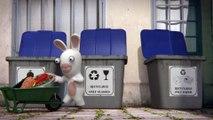 Les Lapins Crétins ne savent pas recycler   Les Lapins Crétins [FR]