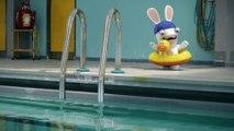 Les Lapins ne savent pas nager   The Lapins Crétins [FR]