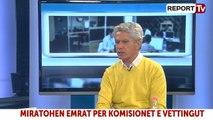 Report TV - Zhvillimet politike, i ftuar në studio Ilir Yzeiri