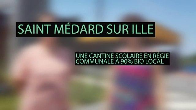 La cantine à 90% bio locale de Saint Médard - BRUDED