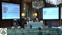 "Conclusion colloque ""Musique et Relations internationales"" - Robert Frank"