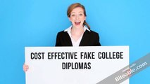 Cost Effective Fake College Diplomas