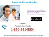 Would it be helpful for me dialing Facebook Phone Number 1-850-361-8504?
