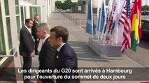 G20: ouverture officielle du sommet à Hambourg