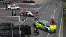 Restart Paffett and Rockenfeller Huge Crash 2017 DTM Norisring Race 2
