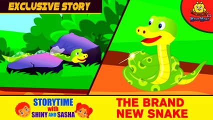 EXCLUSIVE KIDS STORIES 2017   The Brand New Snake   Story for Children   Bedtime Stories for Kids