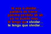 Luis Miguel - Palabra De Honor (Karaoke)
