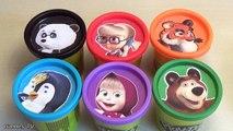 Les couleurs Anglais trouille dans enfants Apprendre leçon porc jouer jouet Surprise de masha doh