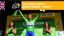The ŠKODA green jersey minute - Stage 7 - Tour de France 2017
