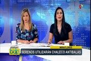 Miraflores: serenos utilizarán chalecos antibalas como medida de seguridad