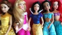Et beauté beauté Cendrillon les princesses en train de dormir neige déballage blanc 7 disney Ariel rapunzel
