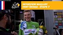 L'interview du maillot vert ŠKODA - Étape 7 - Tour de France 2017