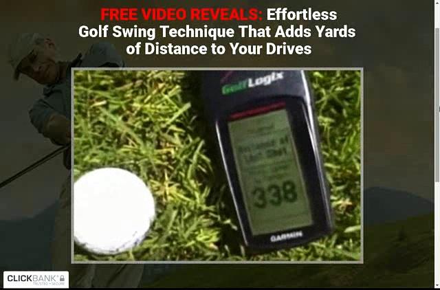 Golf Swing Technique Monster Golf Swing