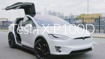 Tesla Model X P100D: AD Test-Drives the World's Quickest SUV