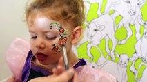 Griffe facile visage lacération lis maquillage peinture cailloux blessures Il y a Halloween