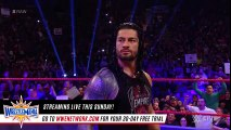 The Undertaker introduces Roman Reigns to his -yard-- Raw, March 27, 2017 - WWE Wrestling - 2017
