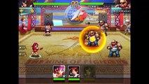 Una kof98 ol Tsu jugar el 1 King of Fighters 98 más grande ideal