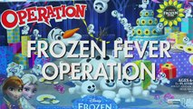 New Frozen Operation Game Toy Review. Grab Frozen Fever Snowgies before the Buzzer. DisneyToysFan , Animated Movies cartoons 2017 & 2018 , animated cartoons  2017 & 2018