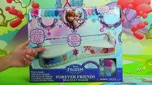 New Frozen Forever Friends Bracelet Maker Set Review. DisneyToysFan , Animated Movies cartoons 2017 & 2018 , animated cartoons  2017 & 2018