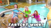 Great Wolf Lodge Water Park Challenge Part 2. Totally TV , Animated Movies cartoons 2017 & 2018 , animated cartoons  2017 & 2018