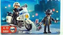 Acción Ciudad Policía Policía ladrón ladrón juguete policía playmobil 5891 unboxing