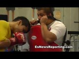 heavy hitter marcos maidana in beast mode in camp - EsNews Boxing