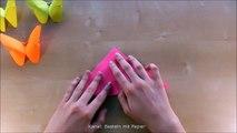 Bricolage avec artisanat papillon conseils dartisanat origami pliage de papier cadeau Geschen